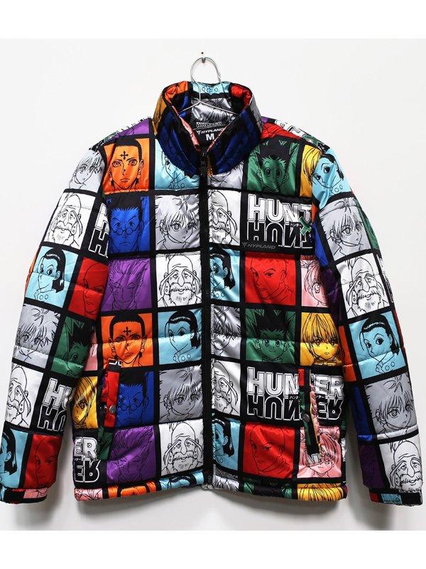 Hunter X Hunter Puffer Jacket