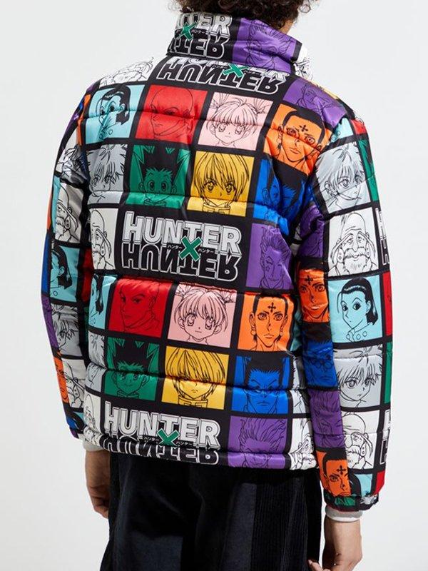 Hypland Hunter X Hunter Multi-Color Puffer Jacket