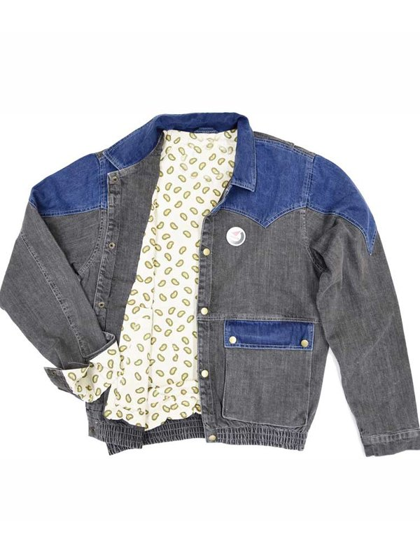 Back to The Future Marty Mcfly Denim Jacket