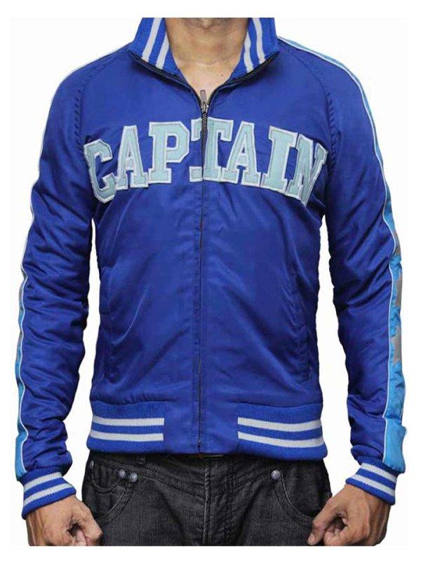 Captain Boomerang Suicide Squad Jai Courtney Blue Varsity Bomber Jacket