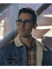Clark Kent Tv Series Superman and Lois Tyler Hoechlin Blue Denim Jacket