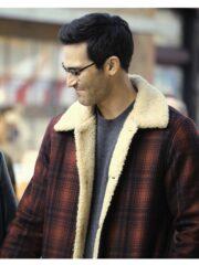 Clark Kent Tv Series Superman and Lois Tyler Hoechlin Red Plaid Jacket