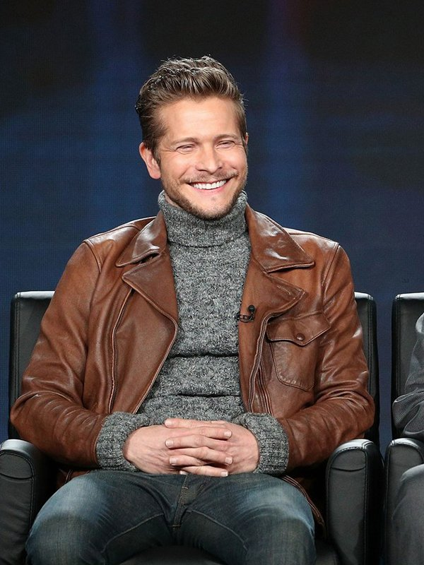 Conrad Hawkins The Resident Brown Leather Jacket