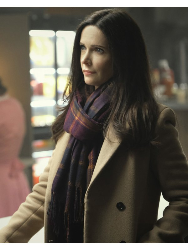 Elizabeth Tulloch Tv Series Superman and Lois Lane Wool Trench Coat