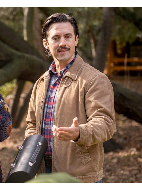 Jack Pearson Tv Series This Is Us S04 Milo Ventimiglia Brown Jacket