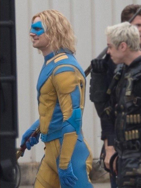 Javelin The Suicide Squad Flula Borg Blue & Yellow Jacket