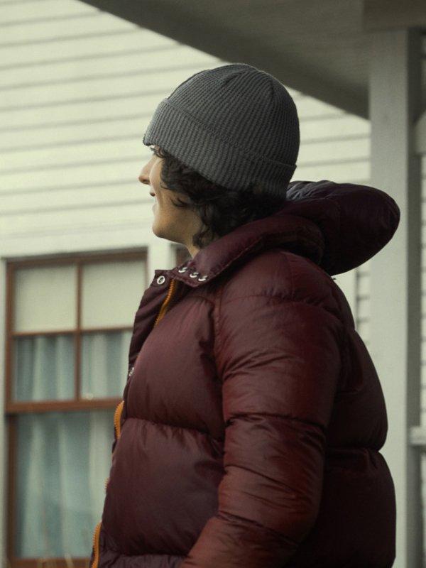 Jordan Kent Tv Series Superman and Lois Alex Garfin Hooded Puffer Jacket