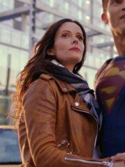 Lois Lane Superman and Lois Leather Jacket