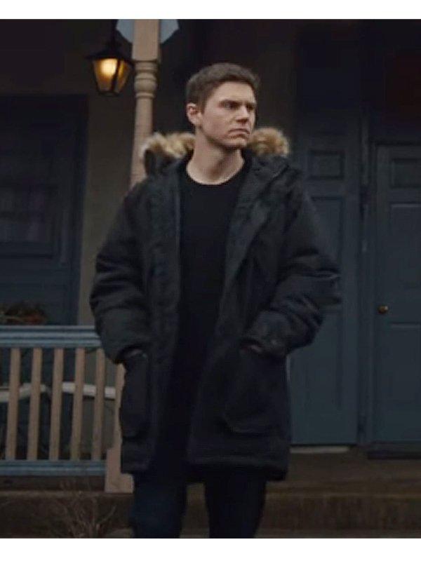 Mare of Easttown Evan Peters Black Parka Jacket