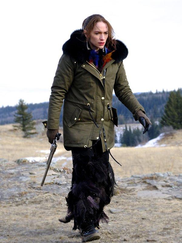 Melanie Scrofano Wynonna Earp S04 Parka Jacket