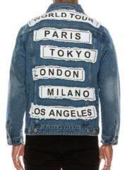 Mens World Tour Denim Jacket