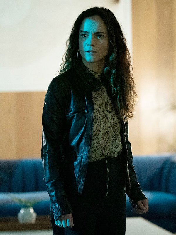 Queen of the South Alice Braga Leather Jacket