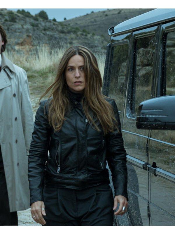 Raquel Murillo Money Heist Leather Jacket