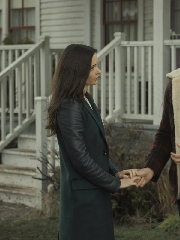 Superman and Lois Elizabeth Tulloch Long Coat