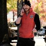 The Resident Matt Czuchry Quilted Vest