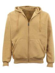 Adult Unisex Zip Up Casual Hoodie Mens & Womens Wear