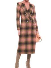 Behind Her Eyes Eve Hewson Plaid Coat