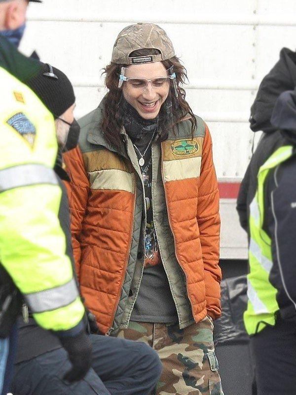 Don't Look Up Timothée Chalamet Puffer Jacket