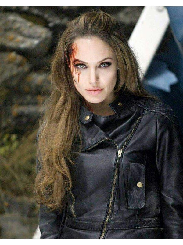 Eternals Angelina Jolie Leather Jacket