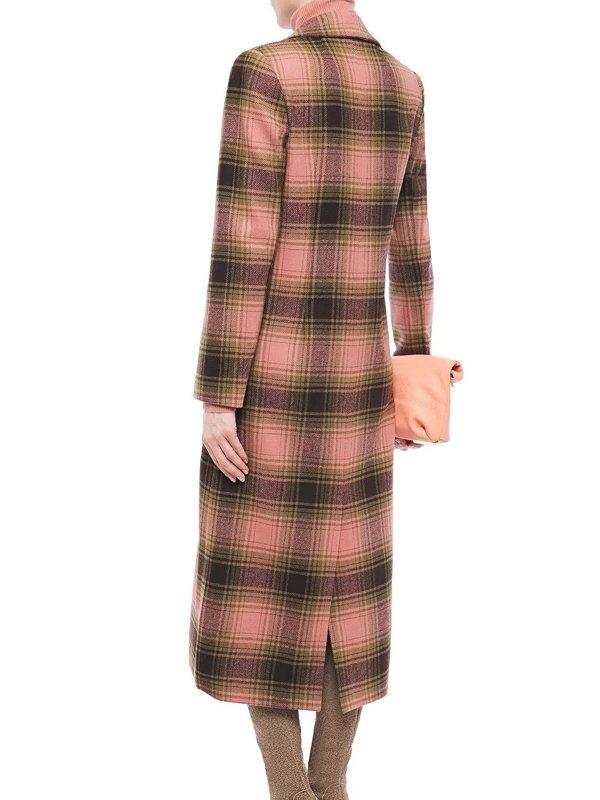 Eve Hewson Tv Series Behind Her Eyes 2021 Adele Long Plaid Coat