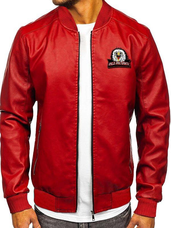 Johnny Lawrence Dojo Eagle Fang Karate Bomber Jacket