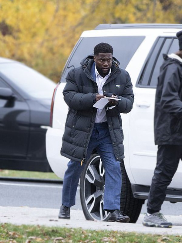 Kevin Hart The Man from Toronto Teddy Nilson Oversized Hooded Puffer Jacket