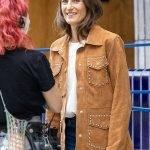 Killing Eve Camille Cottin Studded Jacket