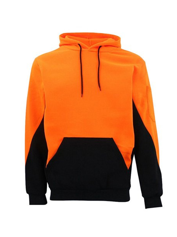 Mens Workwear Pull Over Style Hoodie