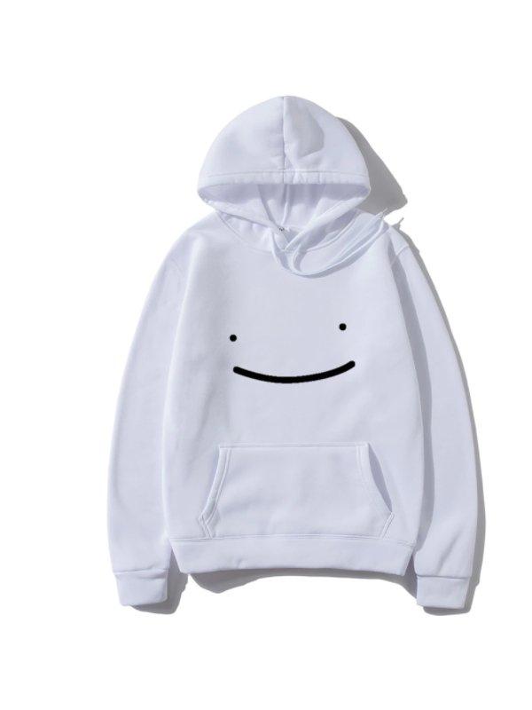 New 2021 Casual Streetwear White Hoodie