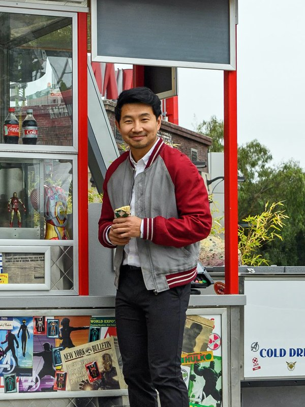 Simu Liu Shang-Chi and the Legend of the Ten Rings 2021 Bomber Jacket