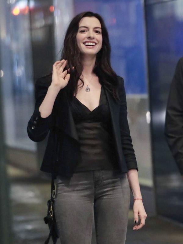 Wecrashed Anne Hathaway Jacket