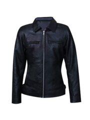 Alex Turner One For The Road Conifer Arctic Monkeys Black Leather Jacket