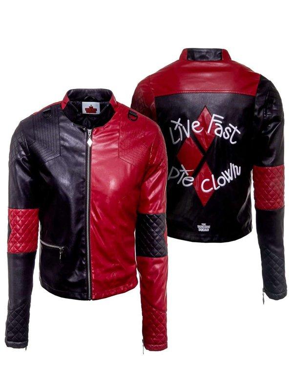 Harley Quinn Live Fast Die Clown Jacket