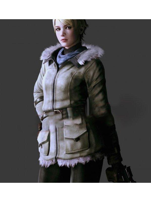 Resident Evil 6 Sherry Birkin Leather Jacket