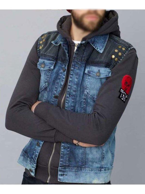 Video Game Infamous Second Son Delsin Rowe Blue Denim Vest
