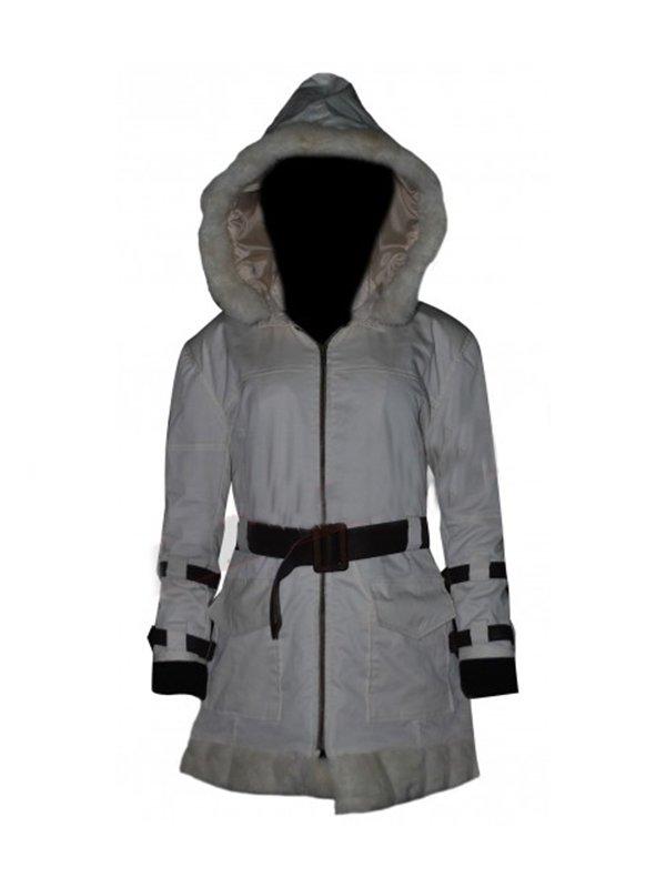 Video Game Resident Evil 6 Sherry Birkin Fur Leather Jacket