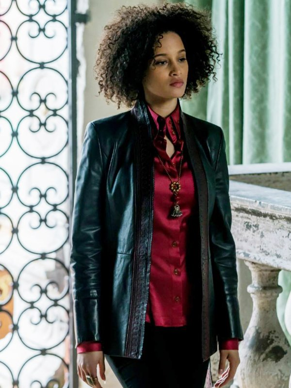 A Discovery Of Witches Elarica Johnson Leather Jacket