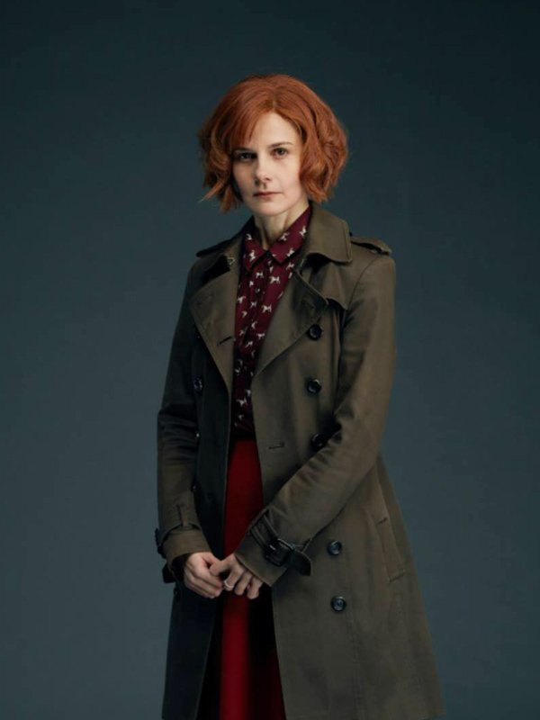 A Discovery Of Witches Gillian Chamberlain Coat