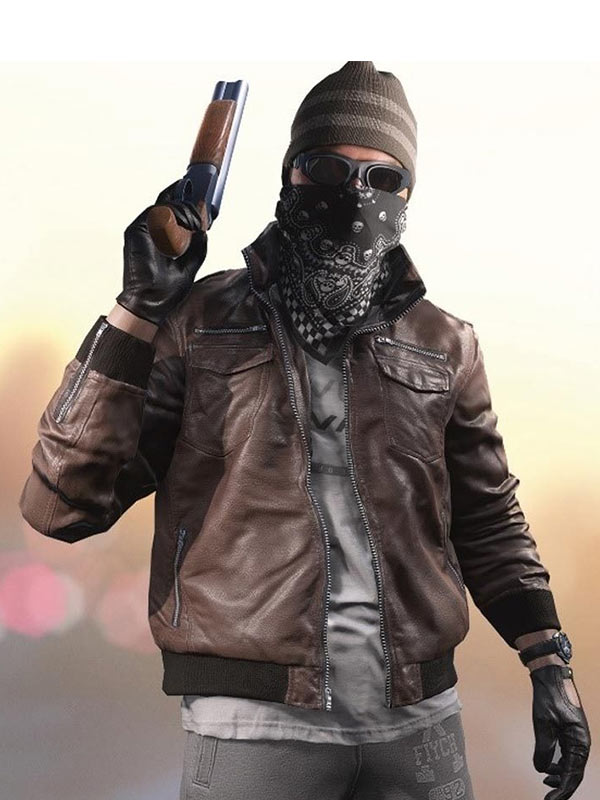 Battlefield 5 Death Dealer Leather Jacket