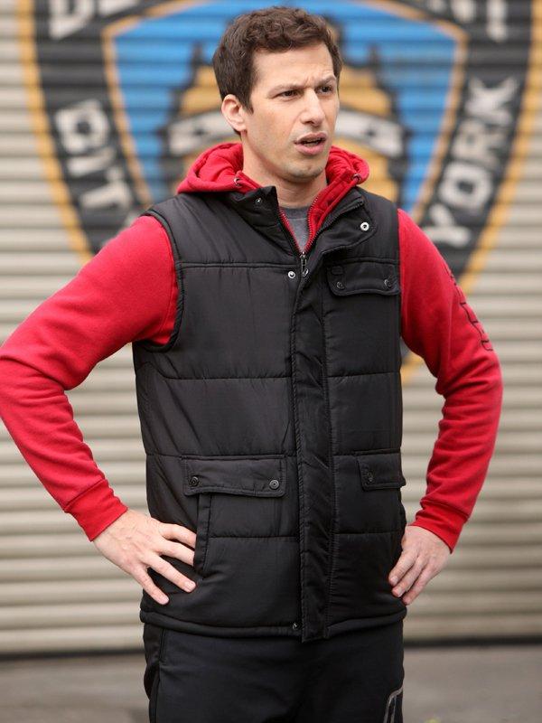 Brooklyn Nine-Nine Andy Samberg Puffer Vest