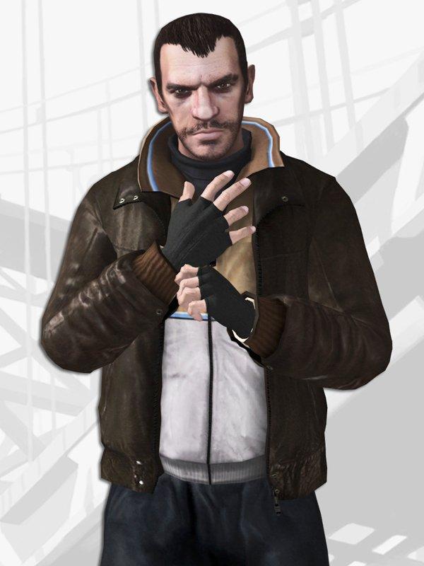 GTA 6 Niko Bellic Leather Jacket