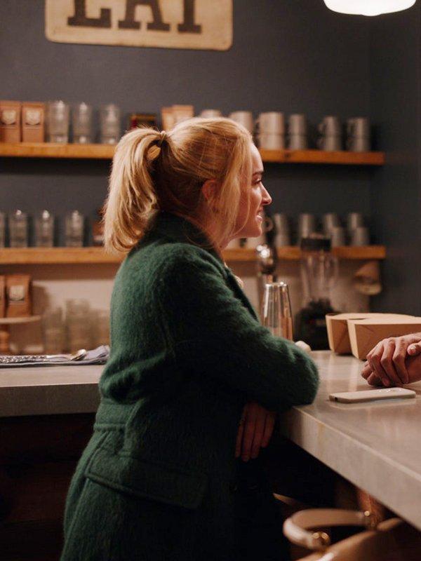 Georgia Brianne Ginny and Georgia Georgia Miller Green Long Coat