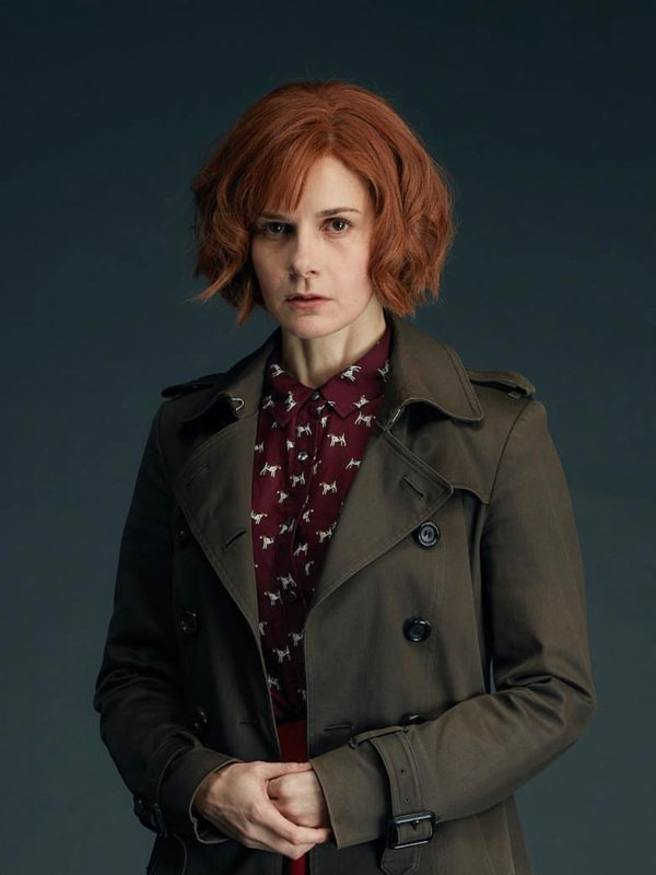 Gillian Chamberlain Tv Series A Discovery of Witches Louise Brealey Trench Coat