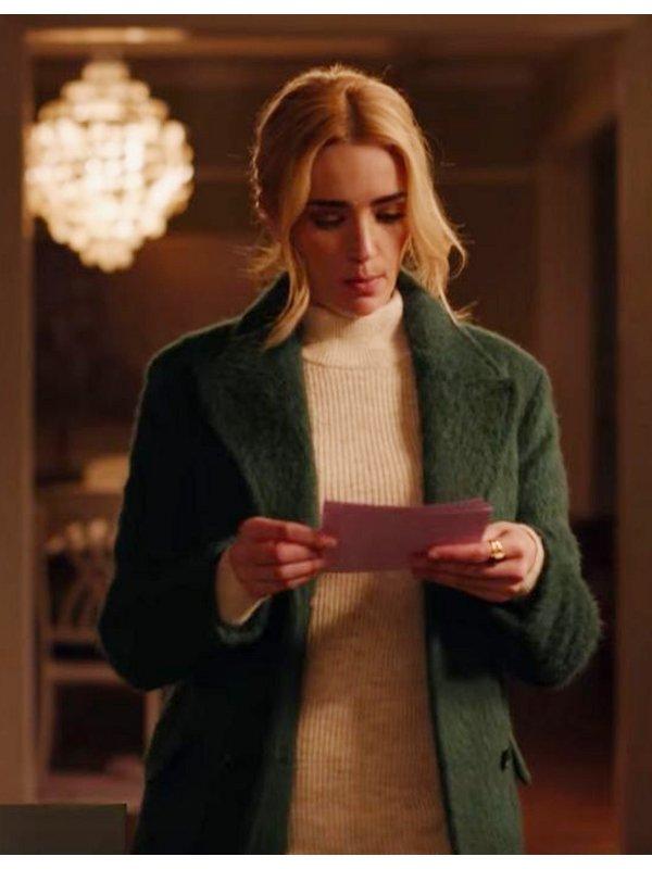 Ginny and Georgia Brianne Howey Long Coat