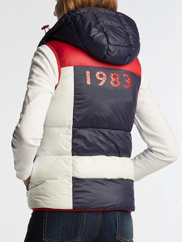 N 1983 Hooded Puffer Vest For Womens