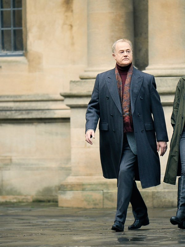 Owen Teale Tv Series A Discovery Of Witches Peter Knox Grey Trench Coat