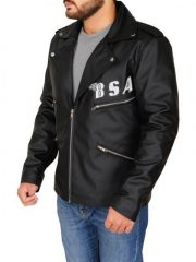 Rockers Revenge Leather Jacket