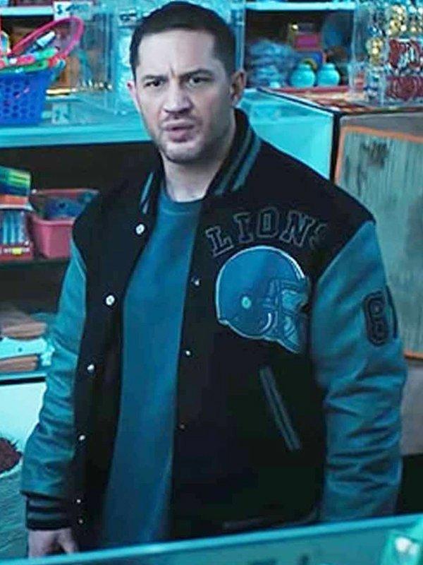 Venom 2 Tom Hardy Varsity Jacket