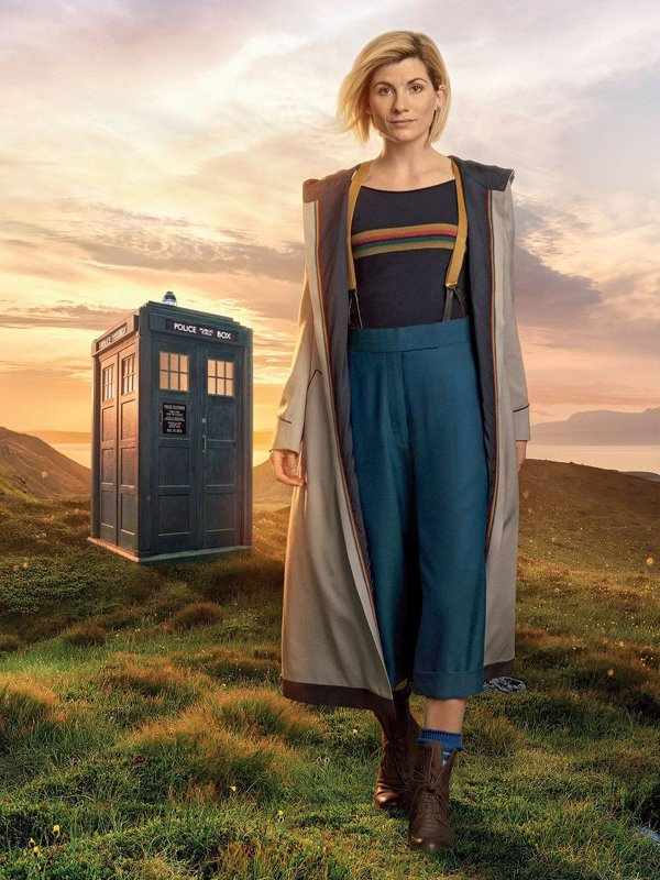 Doctor Who Jodie Whittaker Long Hooded Trench Coat