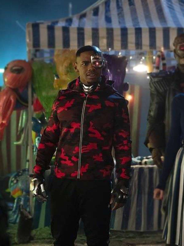 Doom Patrol Cyborg Zip Up Hoodie